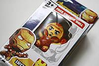 """Брелок Железный Человек марвел Игрушка мульт-герой """"Avengers"""" Face Change Doll"""