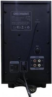 Акустическая система, колонки Greenwave SA-160BT Black-orange, фото 2