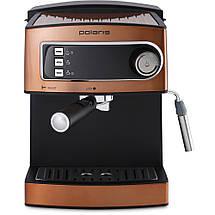 Кофеварка рожковая Polaris PCM 1515E Adore Crema, фото 3