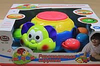 7259 Музыкальный жук барабан, развивающие игрушки для малышей