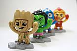 "Брелок Грут марвел Игрушка мульт-герой ""Avengers"" Face Change Doll, фото 6"
