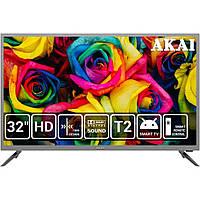 "AKAI UA32IA124S Телевизор 32"" Smart TV смарт новый"