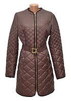 Женское пальто на синтепоне CHIAGO без воротника