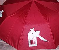 "Зонт женский полуавтомат  "" проявка """