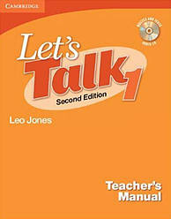 Let's Talk 1 Teacher's Manual with Audio CD
