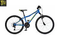 """Велосипед AUTHOR Matrix 24"""" (2020) синий голубой"""