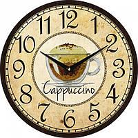 Часы настенные UTA Vintage 330 х 330 х 27 мм кухонные