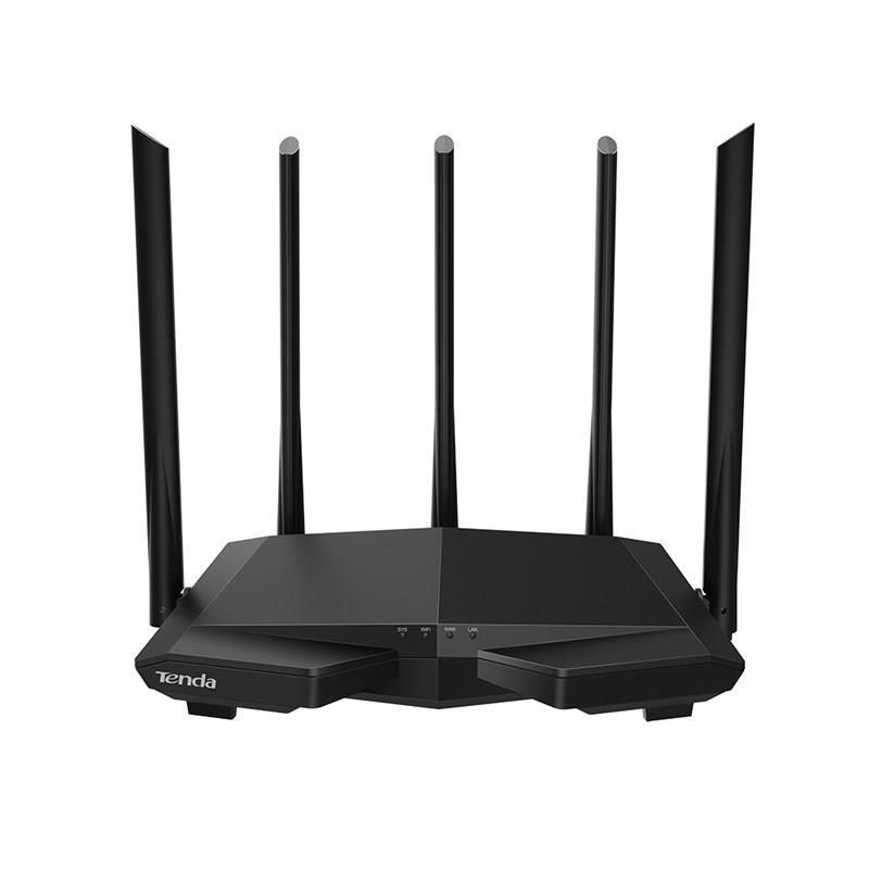 Беспроводной маршрутизатор Tenda AC7 (AC1200, 3xFE LAN, 1xFE WAN, Smart, MU-MIMO, 5x6dBi антенны)