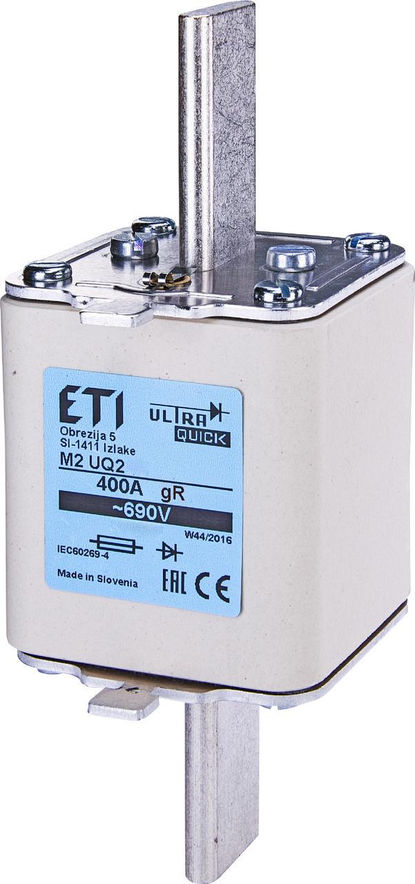 Предохранитель ETI M3UQ2 gR 630A 690V 200kA 4725228 ножевой сверхбыстрый (NH-3)