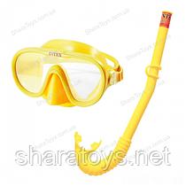 Набор 2 в 1 для плавания Intex  желтый