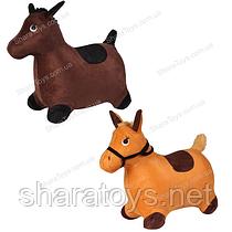 """Детский прыгун """"Лошадь"""" в тканевом чехле"""