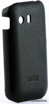 Kuboq Leather Cover кожаная накладка для Samsung S5360 Galaxy Y, фото 2