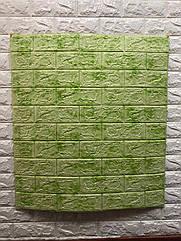 Мягкие 3D панели под зеленый мрамор