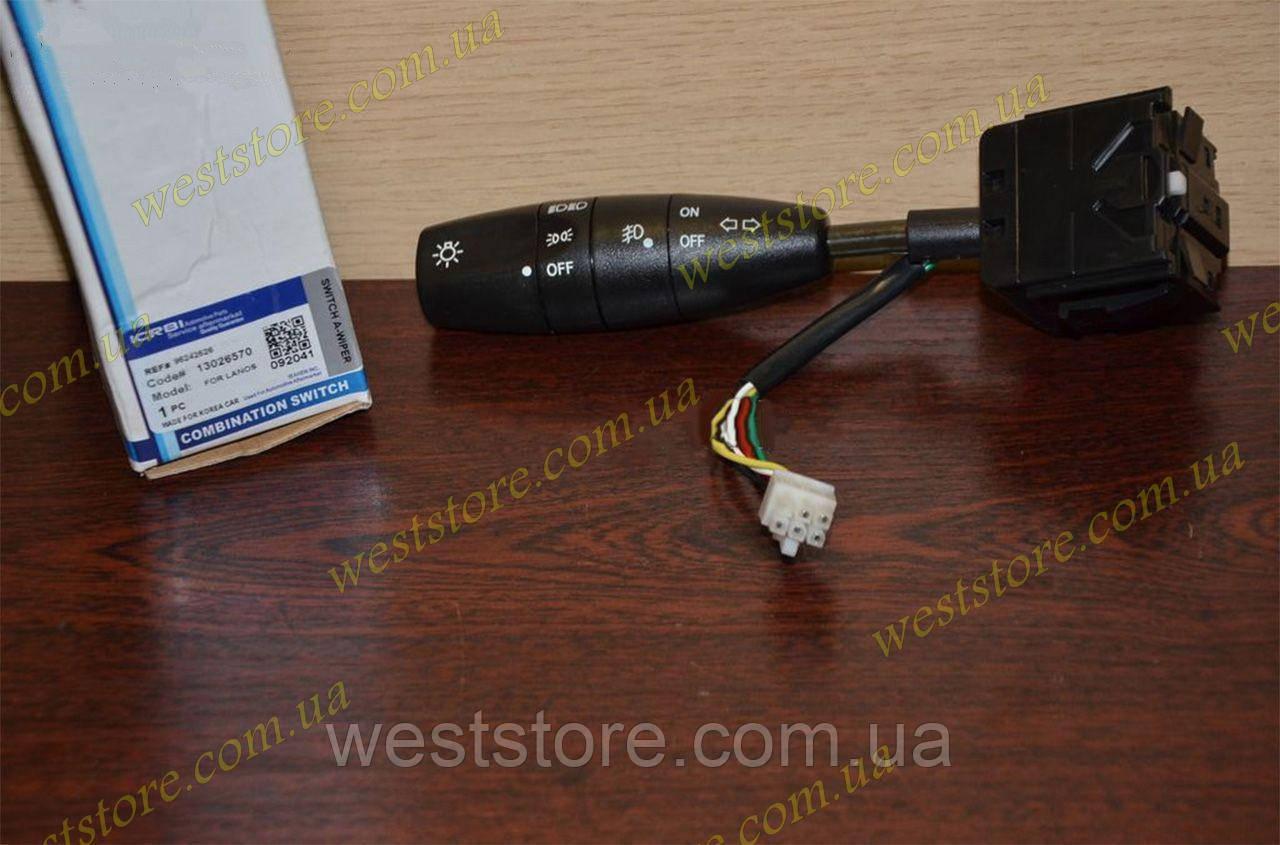 Переключатель света и поворотов Ланос,Сенс,Lanos,Sens CRB 96242526