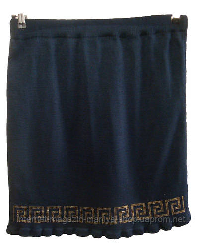 Женская юбка трикотаж 50 см