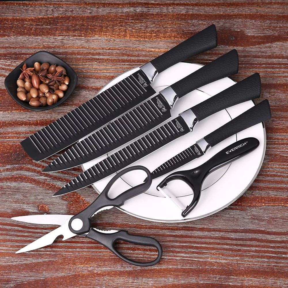 Набор кухонных ножей Knife 6 in 1