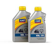 Олива технічна VDL 100 1л YUKO (компресор) (з/без ПДВ)