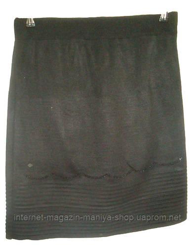 Женская юбка трикотаж 50см