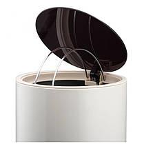 Ведро для мусора Nordic Style JAH 10 л (цвет бежевый, круглое), фото 3