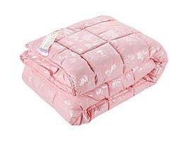 Одеяло DOTINEM ROSALIE искусственный лебяжий пух 145х210 см розовое