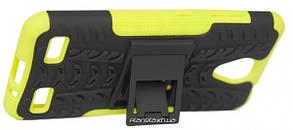 Florence Dazzle Сombo PC + TPU накладка с подставкой для  ZTE Blade A520 Green ( силикон и пластик ), фото 2