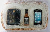 """Мыло ручной работы """"Большой набор: портмоне, виски Jack Daniels, айфон"""""""