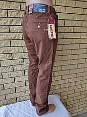 Брюки, джинсы мужские стрейчевые коттоновые, большие размеры LOOK VNG,  Турция, фото 3