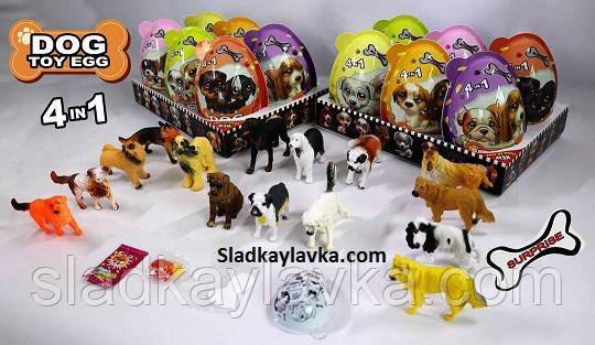 Яйцо шоколадное пластиковое DOG EGG MAX 6 шт (China)