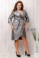 Платье женское серебро 151 - 50,52,54,56