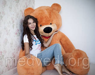 Карамельный плюшевый мишка, игрушка мягкий медведь 200 см