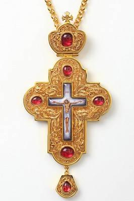 Хрести наперсные з прикрасою