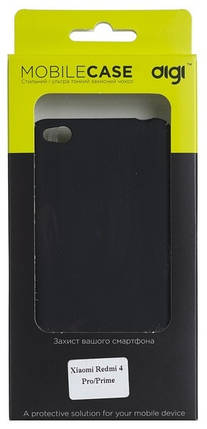 Digi чехол-накладка для Xiaomi Redmi 4 Pro/Prime - Soft touch PC (Black), фото 2