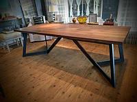 Дизайнерский Обеденный кухонный стол в стиле Лофт Loft