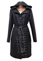 Женское пальто на синтепоне CHIAGO с поясом
