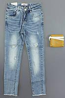 {есть:6 лет 116 СМ} Джинсовые брюки для девочек S&D, 6-16 лет. Артикул: DT189 [6 лет 116 СМ]