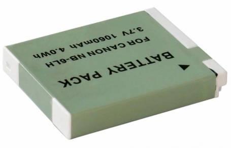 Аккумулятор (батарея) EXTRADIGITAL Canon NB-6LH 1060mAh, фото 2