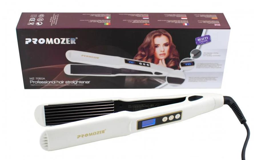 Утюжок гофре с регулятором температуры для волос Pro Mozer MZ 7050