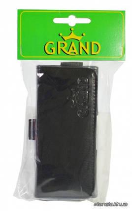 Grand Premium чехол на пояс для Nokia 220 Black ( универсальный карман 115х25х55 мм ), фото 2