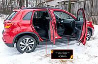 Накладки на внутрішні пороги дверей Mitsubishi ASX 2010-2019