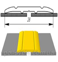 Алюминиевый порожек АП-005