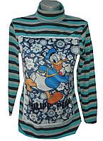 Женский свитер из турецкой вязки