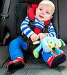 Дитяче автокрісло, Безкаркасне автокрісло для дитини,П'яти точкові ремені безпеки, фото 2