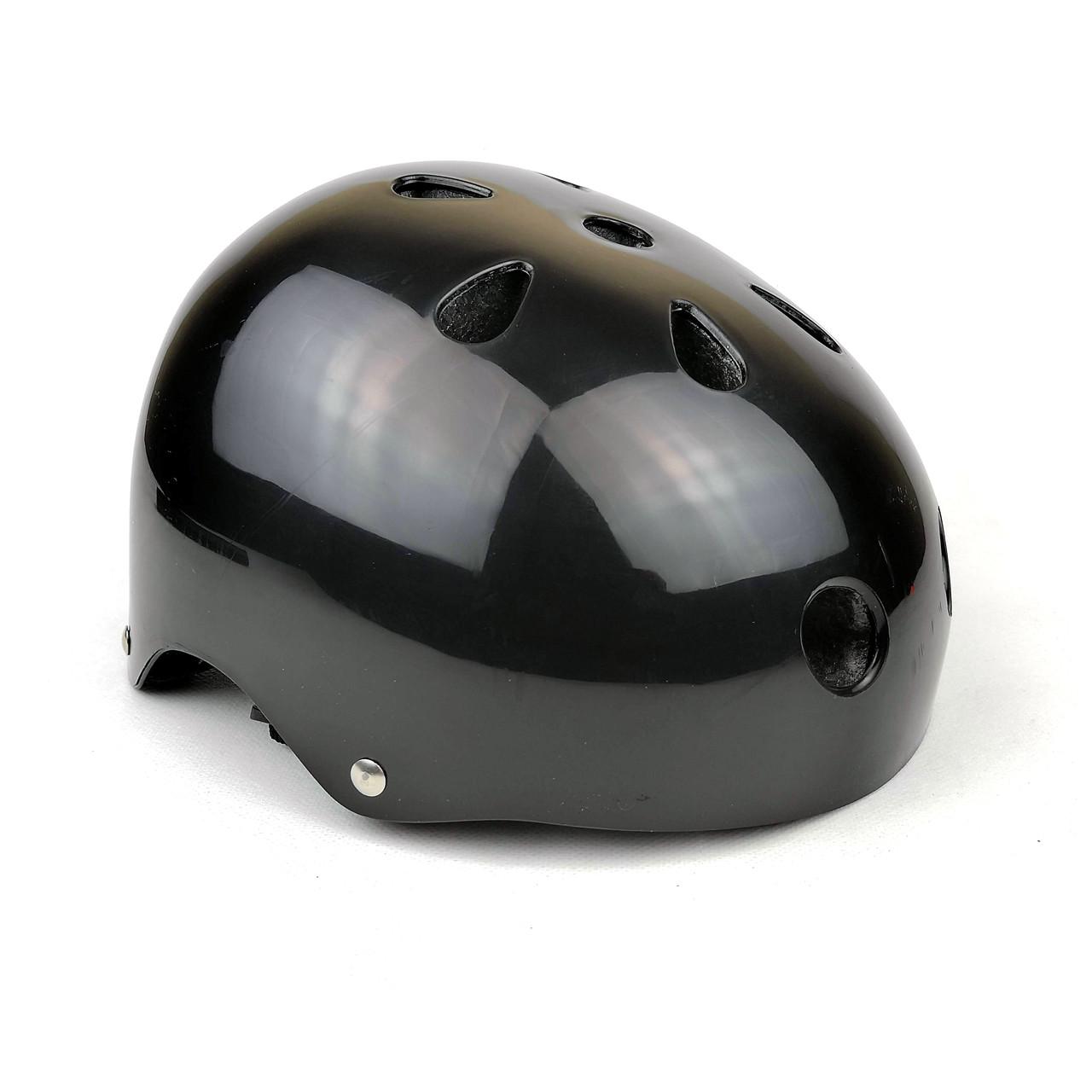 Детский шлем черный