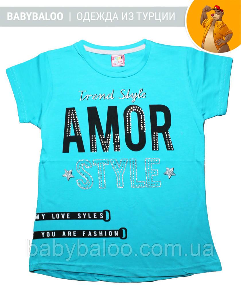 Стильная футболка для девочки (от 9 до 12 лет)