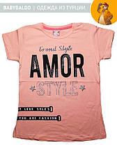 Стильная футболка для девочки (от 9 до 12 лет), фото 2