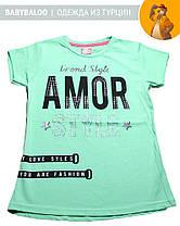 Стильная футболка для девочки (от 9 до 12 лет), фото 3