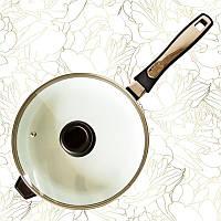 Сковорода с керамическим покрытием Giakoma G 1031 24 см, фото 1