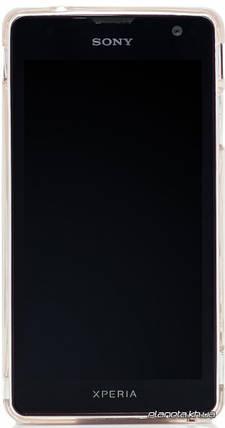 Jekod силиконовый чехол TPU Protective для Sony LT30P/LT30i Xperia T White, фото 2