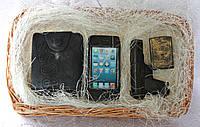 """Мыло ручной работы """"Набор: портмоне, зажигалка Jack Daniels, пистолет, айфон"""""""