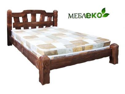 """Кровать под старину из натурального дерева """"Хуторок""""."""